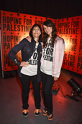 "Karma Nabulsi and Bella Freud at ""Hoping For Palestine"" Benefit Concert For Palestinian Refugee Children held at The Roundhouse, Chalk Farm Road, England. 04 June 2018. <br /> Photo by Dominic O'Neill/SilverHub 0203 174 1069/ 07711972644 - Editors@silverhubmedia.com"