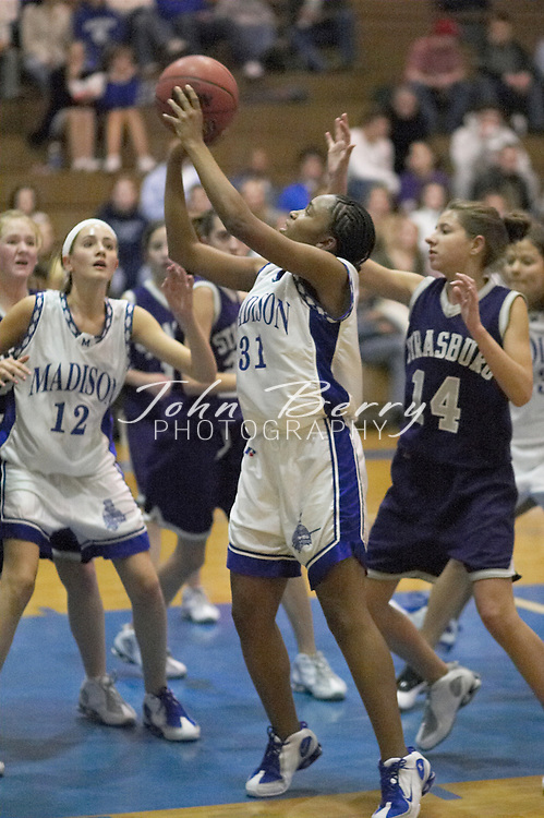 MCHS JV Girls Basketball..vs Strasburg..Second Period..December 17, 2004