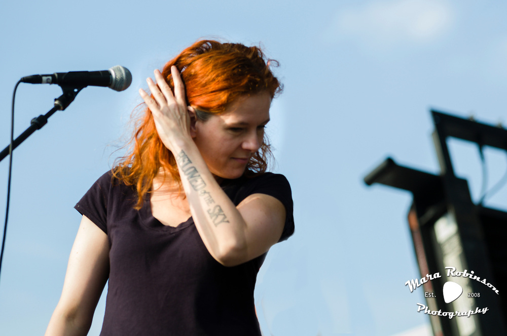 Neko Case with Guided By Voices at Pitchfork Music Festival 2011