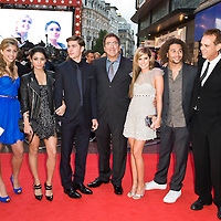 London Oct 7th   Jemma McKenzie Brown, Vanessa Hudgens, Zac Efron, Ashley Tisdale and Corbin Bleu attend the UK premiere of 'High School Musical 3' at the Empire cinema, Leicester Square on October 7, 2008 in London, England.