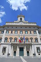 Palazzo Montecitorio è un edificio storico di Roma che si affaccia su piazza del Parlamento da un lato e su piazza di Monte Citorio dall'altro, in cui ha sede la Camera dei deputati della Repubblica