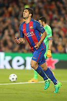 19.04.2017 - Barcellona  -  Quarti di finale  Champions League, Barcellona-Juventus , Nella foto:  Luis Suarez si dispera