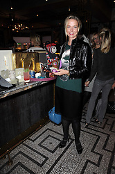 FELICIA BROCKLEBANK at a party to celebrate the 1st anniversary of Gift-Library.com held at Bob Bob Ricard, 1 Upper James Street, London on 19th November 2009.