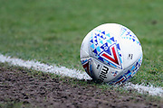 The EFL match ball during the EFL Sky Bet League 2 match between Grimsby Town FC and Port Vale at Blundell Park, Grimsby, United Kingdom on 10 March 2018. Picture by Mick Atkins.