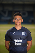 Dundee FC  new signing Nathan Ralph pictured at The Kilmac Stadium at Dens Park, Dundee, The 25 Year old left back joins Dundee from Woking<br /> <br /> <br />  - &copy; David Young - www.davidyoungphoto.co.uk - email: davidyoungphoto@gmail.com