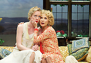 Hay Fever<br /> by Noel Coward<br /> at The Duke of York's Theatre, London, Great Britain <br /> press photocall <br /> 6th May 2015 <br /> <br /> Felicity Kendall as Judith Bliss<br /> <br /> Alice Orr-Ewing as Sorel Bliss<br /> <br /> <br /> <br /> Photograph by Elliott Franks <br /> Image licensed to Elliott Franks Photography Services