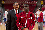 Arkansas defeats Kentucky 77 to 76 in overtimeUniversity of Arkansas Razorback 2010-2011 Basketball Team action photos<br /> <br /> <br /> <br /> ©Wesley Hitt<br /> All Rights Reserved<br /> 501-258-0920