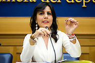 Rome oct 6th 2015, Democratic Party presents a law on sports' education and culture. In the picture Daniela Sbrollini