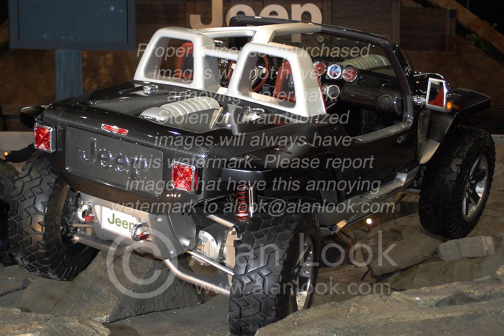Jeep Hurricane Concept Car Alan Look Photography