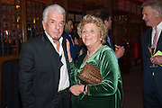 NICKY HASLAM; DAME VIVIEN DUFFIELD, Rocco Forte's Brown's Hotel Hosts 175th Anniversary Party, Browns Hotel. Albermarle St. London. 16 May 2013