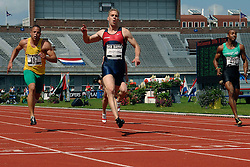 01-07-2007 ATLETIEK: NK OUTDOOR: AMSTERDAM<br /> Caimin Douglas, Guus Hoogmoed en Brain Mariano<br /> ©2007-WWW.FOTOHOOGENDOORN.NL