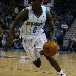 Mar 31, 2010; New Orleans, LA, USA; New Orleans Hornets guard Darren Collison (2) drives with the ball during the first half against the Washington Wizards at the New Orleans Arena. Mandatory Credit: Derick E. Hingle-US PRESSWIRE