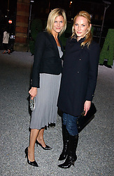 Left to right, COURTNAY WISE and TAMSIN GREENHILL at a party to celebrate the Stella McCartney's unique collaboration with fashion store H&M at St.Olavs, Tooley Street, London SE1 on 25th October 2005.<br /><br />NON EXCLUSIVE - WORLD RIGHTS