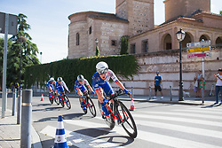 Stage 1 of the Madrid Challenge - a 12.6 km team time trial, starting and finishing in Boadille del Monte on September 15, 2018, in Madrid, Spain. (Photo by Balint Hamvas/Velofocus.com)