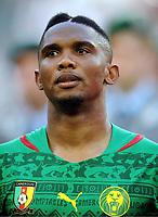 Fotball , 1. juni 2014 , <br /> Samuel Eto'o (Etoo, Kamerun)<br /> Tyskland - Kamerun 2:2<br /> NORWAY ONLY
