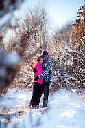Courtney & Jason in the Snow