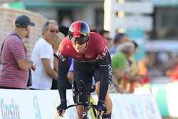 Team Ineos including Ian Stannard (GBR) in action during Stage 1 of La Vuelta 2019, a team time trial running 13.4km from Salinas de Torrevieja to Torrevieja, Spain. 24th August 2019.<br /> Picture: Eoin Clarke | Cyclefile<br /> <br /> All photos usage must carry mandatory copyright credit (© Cyclefile | Eoin Clarke)