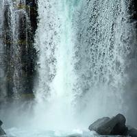 Waterfall at Thingvellir National Park, Iceland