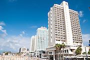 Israel, Tel Aviv, the Renaissance Hotel on the beach front