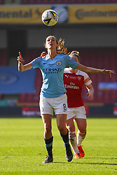 February 23, 2019 - Sheffield, England, United Kingdom - Jill Scott of Manchester City..during the FA Women's Continental League Cup Final football match between Arsenal Women and Manchester City Women at Bramall Lane on February 23, 2019 in Sheffield, England. (Credit Image: © Action Foto Sport/NurPhoto via ZUMA Press)