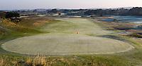 ZANDVOORT - De golfbaan van de Kennemer Golfclub, waar ook in 2008 het Dutch Open voor mannen zal worden gehouden. Op de foto: De baan gezien vanaf het clubhuis.