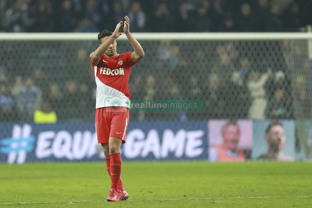 December 6, 2017 - Na - Porto, 06/12/2017 - Football Club of Porto received, this evening, AS Monaco FC in the match of the 6th Match of Group G, Champions League 2017/18, in Estádio do Dragão. Radamel Falcao at the end of the game  (Credit Image: © Atlantico Press via ZUMA Wire)