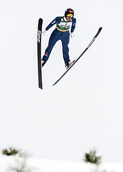February 8, 2019 - Lahti, Finland - Wendelin Thannheimer competes during Nordic Combined, PCR/Qualification at Lahti Ski Games in Lahti, Finland on 8 February 2019. (Credit Image: © Antti Yrjonen/NurPhoto via ZUMA Press)