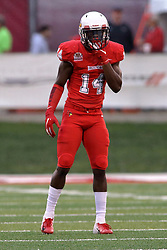 NORMAL, IL - September 08: Luther Kirk during 107th Mid-America Classic college football game between the ISU (Illinois State University) Redbirds and the Eastern Illinois Panthers on September 08 2018 at Hancock Stadium in Normal, IL. (Photo by Alan Look)