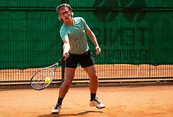 Matej Stakul, Drzavno prvenstvo novinarjev v tenisu 2019, on June 12, 2019 in Tivoli, Ljubljana, Slovenia. Photo by Vid Ponikvar / Sportida