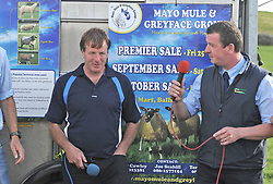 Pictured at the Mayo Breeding Sheep Event organised by Teagasc Mayo and the Lakeland Sheep producer group. The informative event which took place on the farm of Sheep Farmer of the Year 2017 Joe Scahill, Westport.<br /> Pic Conor McKeown