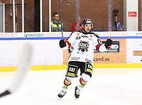 2020-03-06   Ljungby, Sverige: Bodens HF (79) Jonathan Tholander firar efter att ha gjort 0-1 under matchen i Hockeyettan mellan IF Troja/Ljungby och Bodens HF i Ljungby Arena ( Foto av: Fredrik Sten   Swe Press Photo )<br /> <br /> Nyckelord: Ljungby, Ishockey, Hockeyettan, Ljungby Arena, IF Troja/Ljungby, Bodens HF, fstb200306, playoff, kval
