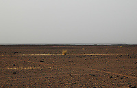 Niger, Agadez, Tidene, 2007. Parts of Niger left to Tuareg hands by the government are simply barren, untenable for farming or grazing.