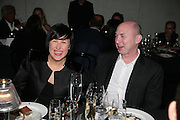 ALICE RAWTHORN AND MURRAY MOSS, Dinner given by Established and Sons to celebrate Elevating Design.  P3 Space. University of Westminster, 35 Marylebone Rd. London NW1. -DO NOT ARCHIVE-© Copyright Photograph by Dafydd Jones. 248 Clapham Rd. London SW9 0PZ. Tel 0207 820 0771. www.dafjones.com.