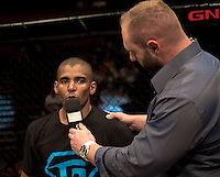 JOHANNESBURG, SOUTH AFRICA - MAY 13:     Yusuf Hassan during EFC 49 Fight Night at the Big Top Arena, Carnival City, Johannesburg, South Africa on May 13, 2016. (Photo by Anton Geyser/ EFC Worldwide)