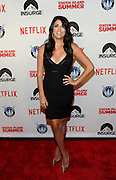 Actress Cecily Strong poses on the red carpet at the premiere of the movie Staten Island Summer at Sunshine Cinema, Tuesday, July 21, 2015, in New York.  The new comedy debuts on Netflix on July 30, 2015 and is available for Digital download. (Photo by Diane Bondareff/Invision for Paramount Pictures/AP Images)