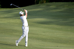 March 22, 2019 - Kuala Lumpur, Malaysia - Nacho Elvira of Spain hits his tee-shot on the 15th hole on Day Two of the Maybank Championship at at Saujana Golf and Country Club on March 22, 2019 in Kuala Lumpur, Malaysia. (Credit Image: © Chris Jung/NurPhoto via ZUMA Press)