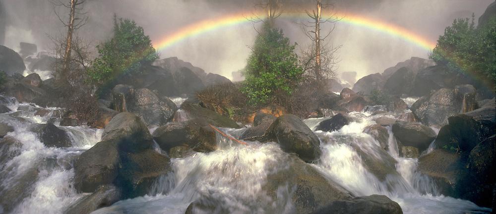 Yosemite National Park, California, Panorama CGI Backgrounds, ,Beautiful Background