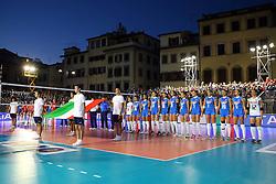INNO NAZIONALE<br /> ITALIA - AZERBAIJAN<br /> AMICHEVOLE NAZIONALE ITALIANA VOLLEY FEMMINILE<br /> FIRENZE 09-09-2015<br /> FOTO GALBIATI - RUBIN