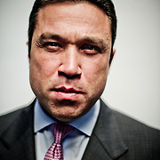 Rep. Michael Grimm (R-NY) poses for a portrait in his office on Tuesday, Feb. 7th, 2012 in Washington. (Photo by Jay Westcott)