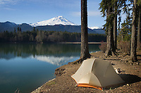 Baker Lake campsite, North Cascades Washington