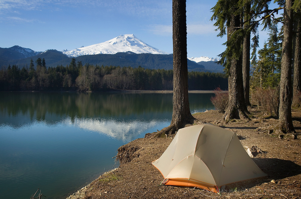 Baker Lake campsite, North Cascades Washington