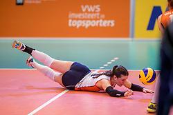01-04-2017 NED:  CEV U18 Europees Kampioenschap vrouwen dag 1, Arnhem<br /> Nederland - Bulgarije verliest met 1-3 / Susanne Kos #1