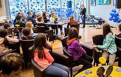 Zakljucek dobrodelne akcije Podarite nam modro srce v organizaciji podjetja Nivea in Zveze prijateljev mladine Slovenije, 20. januar 2017, v Austria Trend Hotel, Ljubljana, Slovenija.<br /> <br /> Foto: Vid Ponikvar / Sportida