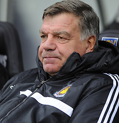 West Ham United Manager, Sam Allardyce - Photo mandatory by-line: Joe Meredith/JMP - Tel: Mobile: 07966 386802 27/10/2013 - SPORT - FOOTBALL - Liberty Stadium - Swansea - Swansea City v West Ham United - Barclays Premier League