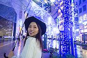Sabrina in Shibuya, Tokyo.
