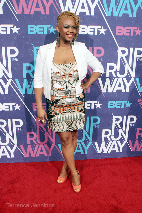New York, NY- FEBRUARY 29:  Fashion Bomb Editor Claire Sulmer at the BET Rip The Run Way held at the Hammerstein Ballroom on February 29, 2012 in New York City. Photo Credit: Terrence Jennings