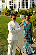 Wedding at The Inn at Longshore on Long Island Sound, Wesport -- an Indian ceremony.