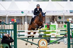 WULSCHNER Holger (GER), Diamant de Plaisir<br /> Hagen - Horses and Dreams 2019 <br /> 2. Qualifikation Youngster Tour für 6+7j Pferde<br /> Preis der Gemeinde Hagen a.T.W.<br /> 26. April 2019<br /> © www.sportfotos-lafrentz.de/Stefan Lafrentz