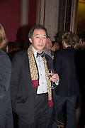 DAVID PUN, The Literary Review Bad Sex in Fiction Award 2014. The In and Out ( Naval and Military ) Club, 4 St. James's Sq. London SW1. 3 December 2014.