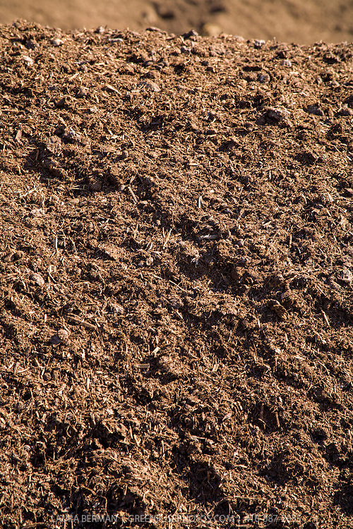Livestock manure-based high quality compost.